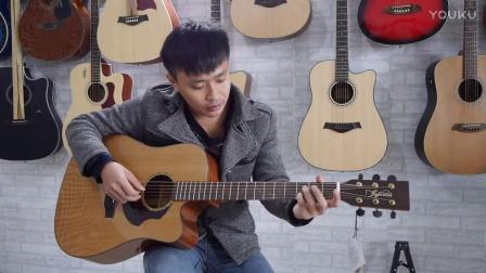 吉他教学弹唱《理想》赵雷 歌手扫弦版 友琴吉他教室