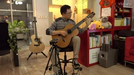 《夜的钢琴曲5》-吉他独奏-黄较瘦