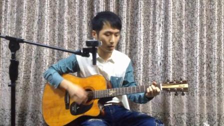 【指弹风格吉他弹唱】靠谱吉他蔡宁编配弹唱春风十里 布鲁克吉他S25