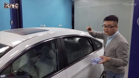 景逸S50车窗防夹测试