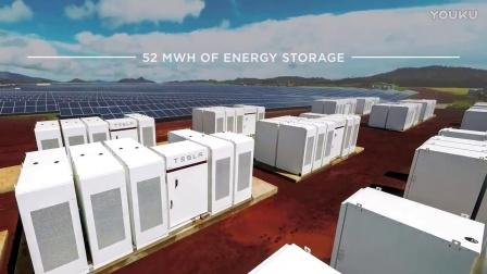 Tesla Powerpacks   solar powering Kauai