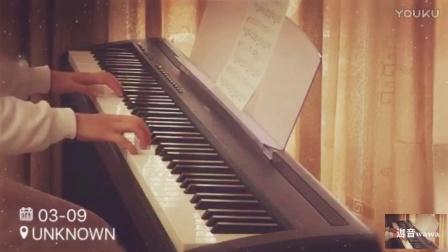 《送别》钢琴版 电钢琴 合适初学者演奏的曲目