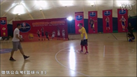 CCTV5篮球解说员杨健 单挑 克雷-汤普森!到底谁赢了?