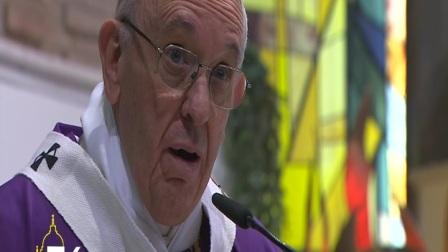教宗访问罗马圣玛达肋纳嘉诺撒堂区
