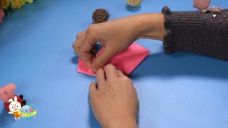 创意手工折纸DIY教程亮晶晶的小星星-小卡手工课