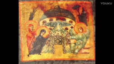 外星人UFO的古代壁画  真实存在的历史的图片