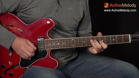 Solo Blues Guitar Lesson in A - 国外布鲁斯教学