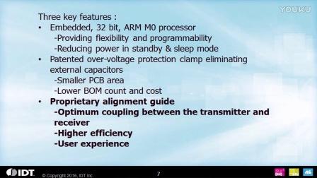 P9221-R 15W Qi Wireless Power Receiver Solution by IDT