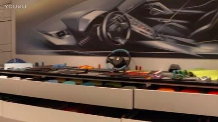兰博基尼AD PERSONAM个性化工作室一角,亮相2017年日内瓦国际车展