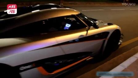 幽灵图案为这部超级跑车盖上徽章 驰骋在夜间 疯狂吧