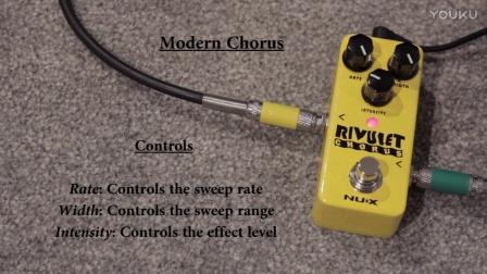 NUX Rivulet 迷你合唱单块效果器在线视听