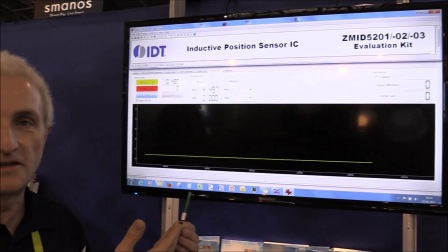 IDT Contact-less Position Sensing Demo at CES 2017