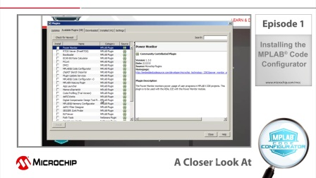 A Closer Look At - Episode 1 - Installing the MPLAB® Code Configurator