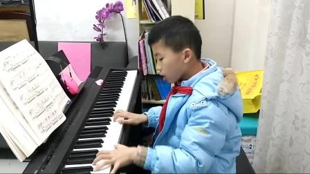 即兴钢琴曲一首