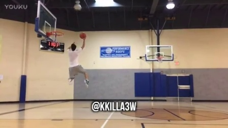 Kyle Wong From 10,000 Hours BASKETBALL DUNK!!