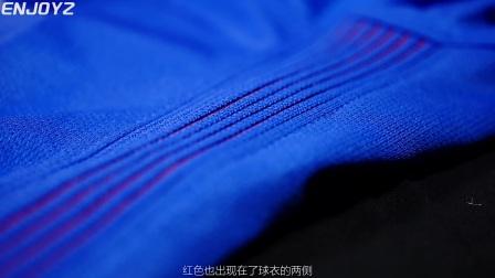 【装备简介】不狂不放不申花!上海申花2017主场球迷版球衣视频简介