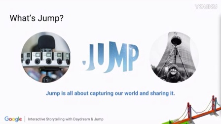 Interactive Storytelling with Daydream & Jump