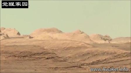 NASA抹除火星上的建筑物的图片