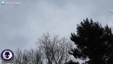 UFO隐藏在天空中?的图片