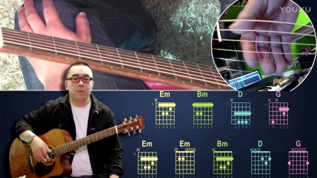 赵雷《画》吉他弹唱教学 大伟吉他