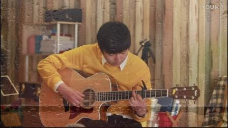指弹吉他《雨降窗边》 cover:小雷哥