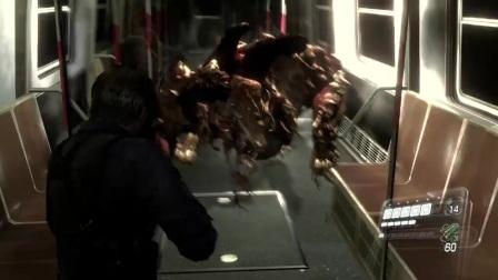 生化危机6【末曲】第11期 (里昂篇P11):西蒙斯变异成了一条狗