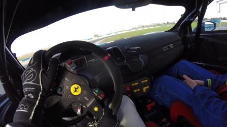 主视角记录赛道驾驶 458 Challenge