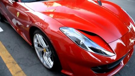 街拍法拉利Ferrari 812 SuperFast