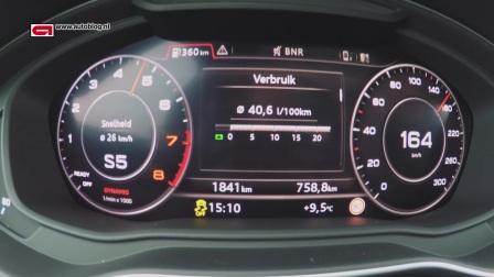 奥迪Audi Q5  0 - 220 KM-h加速