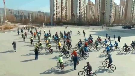 """西宁市2017""""地球一小时""""公益骑行活动"""