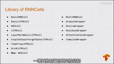 Sequence Models and the RNN API (TensorFlow Dev Summit 2017)