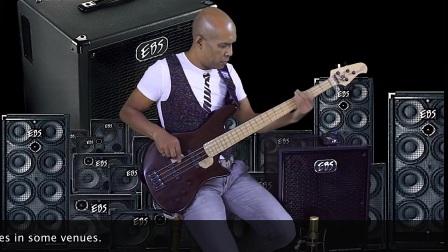 Jay-Tee Teterissa play the EBS Magni 500 - 210 combo