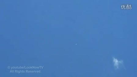 UFO目击在天上(不知道在哪里)的图片