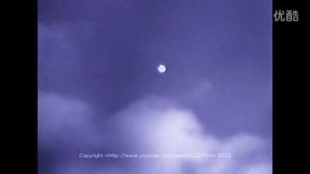 澳大利亚拍到大型UFO邻近乘客喷气机的图片
