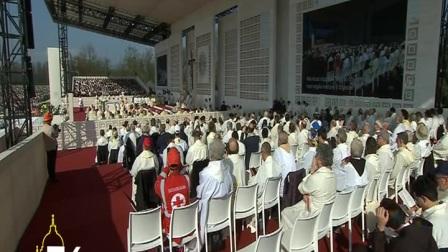 教宗在蒙扎公园主持盛大弥撒:救恩的喜乐出自平凡的生活