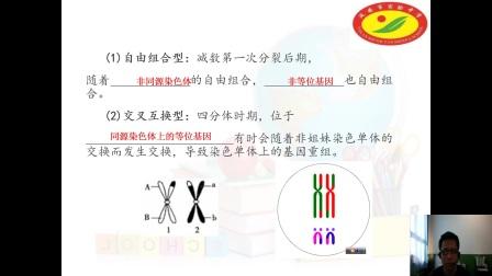 《基因重組》高一生物-延安市實驗中學-陳小軍-陜西省首屆微課大賽