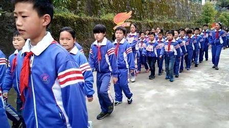 2017高川中心小学春季运动会入场仪式