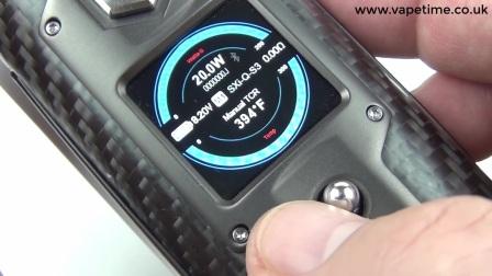 UK Vape Time-SXmini G Class简要测评|介绍