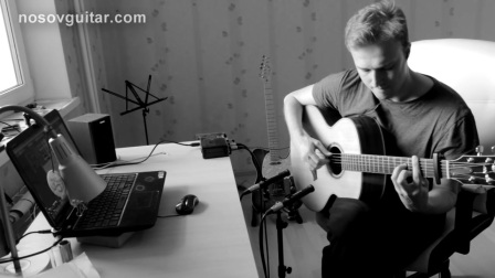 俄罗斯指弹吉他手Alexey Nosov - Агутин -Варум Февраль【HD】