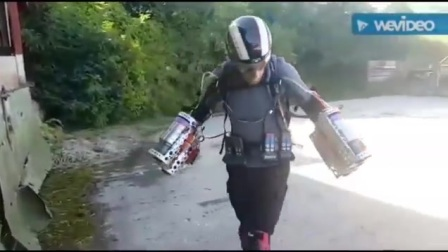 British entrepreneur invents, builds and files Iron Man-like flight suit