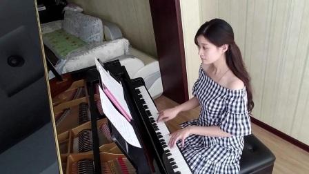 迪丽热巴《舍不得》钢琴演奏,《漂亮的李慧珍》钢琴版