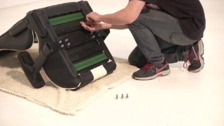 如何安装迪锐克斯DXRacer青蛙托