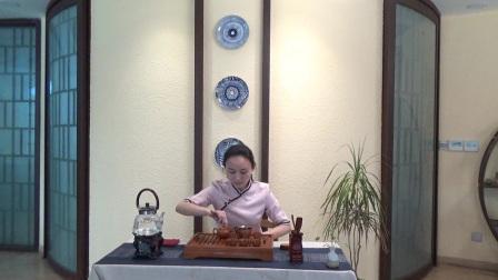 天晟茶艺培训第129期14号台湾十八道茶艺表演