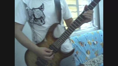 电吉他版原音和失真 周杰伦 《告白汽球》旋律完整版 间奏即兴吉他JAM 即兴