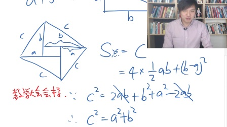 童哲老师的神奇数学——一秒钟证明勾股定理.mp4