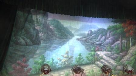 河南省方城县曲剧团演岀的节目