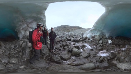 【加拿大BC省360°全景视频】惠斯勒冰洞探险