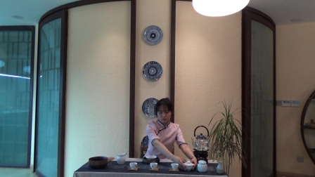 天晟茶艺培训第129期7号茶修之行茶十式茶艺表演