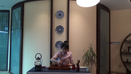 天晟茶艺培训第129期7号台湾十八道茶艺表演.