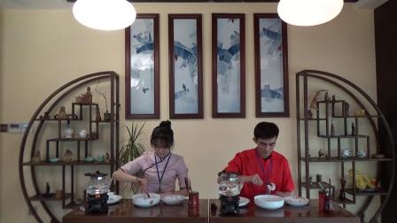 天晟茶艺培训第129期第3组安溪茶艺表演